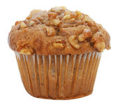 Espresso Walnut Muffin — Stock Photo