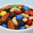 Trail Mix Macro — Foto de Stock