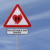 Valentine's Day Ahead — Stockfoto