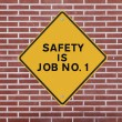 Постер, плакат: Safety is Job No 1