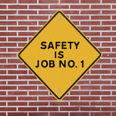 Safety is Job No. 1 — Stock Photo