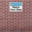 Watch Your Step - Stock Photo