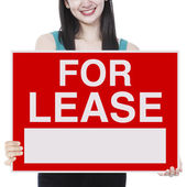 For Lease — Stock Photo