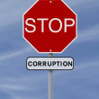 Stop Corruption — Stock Photo #24131215