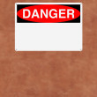 Danger — Stock Photo
