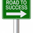 Road to Success — Stock Photo