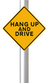 Hang Up and Drive — Stock Photo