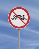 Ozone Depletion — Stock Photo
