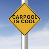 Carpooling — Stock Photo