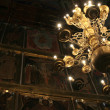 Chandelier in the Cathedral - Stock Photo