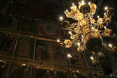 Chandelier in the Cathedral — Stock Photo
