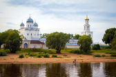 Yuriev Monastery, Veliky Novgorod — Stock Photo