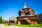 Museum of wooden architecture, Veliky Novgorod — Stock Photo