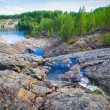 Girvas. most ancient crater of volcano in Karelia — Stock Photo #40800207