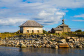 Andrew the First-Called's church, Big Zayatsky island, Solovki — Stock Photo
