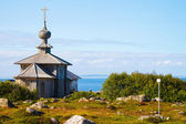 Andrew the First-Called's church, Big Zayatsky island, Solovki — Stock fotografie