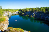 Ruskeal's marble canyon — Foto Stock