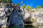 Ruskeal мраморный каньон — Стоковое фото