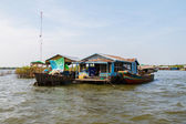 The floating village in Cambodia — Photo