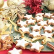 Christmas Cinnamon Cookies or Biscuits — Stock Photo #11992710