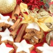 Christmas Cinnamon Cookies or Biscuits — Stock Photo #11992751