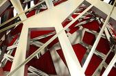 Soyut çelik metal soyut yapı arka plan — Stok fotoğraf