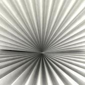 径向抽象径向黑色白色阴影的形状背景 — 图库照片