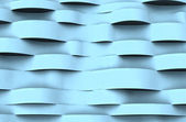Horizontal light blue wave abstract cool surface background illustration — Stock Photo