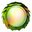 Stock Photo: Isolated maple treetop sphere icon template concept illustration