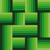 Green simple square abstract pattern vector — Stock Vector