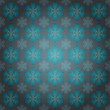 Alighted blue snowflakes motive vector wrap paper — Stock Vector #14689575