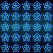 Magic lighting snowflakes motive vector wrap paper — Stock Vector #14689637