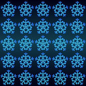 Magic lighting snowflakes motive vector wrap paper — Stock Vector