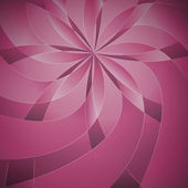 Pink blossom on fabric pattern — Stock Photo