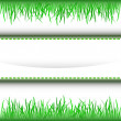 Royalty-Free Stock Vector Image: Grass inner green stripe frame vector