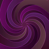 Violet central swirl space scene vector — Stock Vector