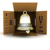 Dostawa produktu złoty dzwon — Zdjęcie stockowe