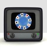 Broadcasting casino games television advertisement — Stockfoto