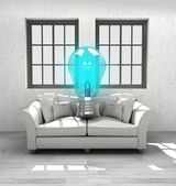 New inventions for your comfortable modern interior home design — Stock Photo
