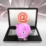 Internet surfing on laptop — Stock Photo #40570937