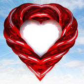 Shaped heart — Stockfoto