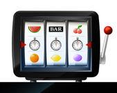 Stopwatch timer three items — Vecteur