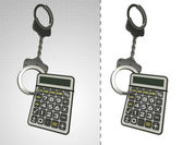Business calculator in chain as criminality concept double — Stock Photo
