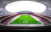 Football stadium general view — Stock Photo