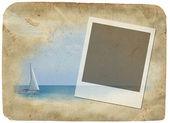 Memory frame illustration — Stock Photo