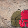 Modern backpacks — Stockfoto