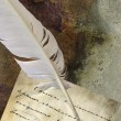 Old letter — Stock Photo