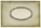Old paper frame background — Stock Photo
