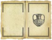 Old greek amphora — Stock Photo
