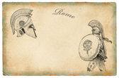 Old rome illustration — Stock Photo